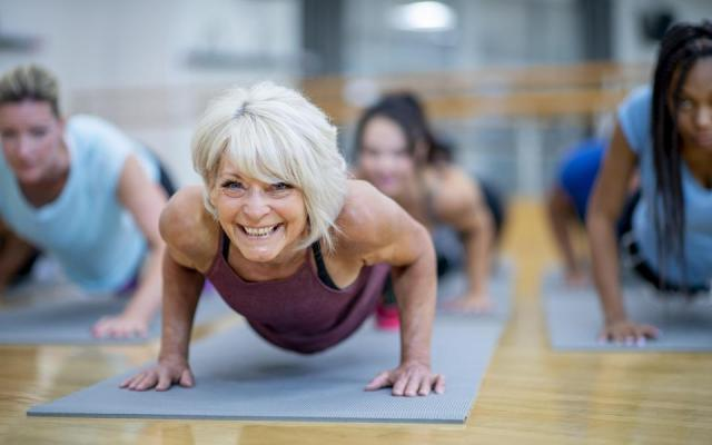 Slowing muscle loss due to aging