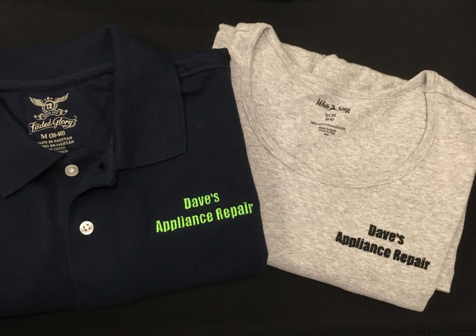 Dave's embroidered shirts by BS