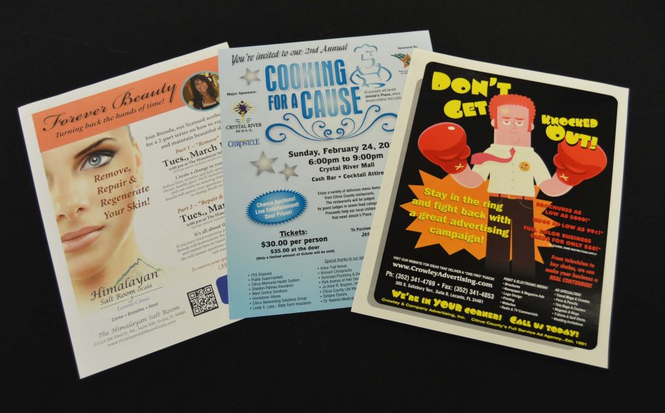 Promotional Flyers & Posters