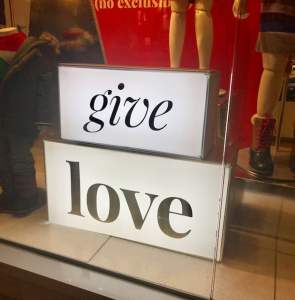 Holiday Deal: Buy Love - Really? -The Gap