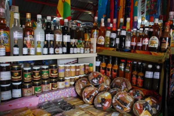 Spices in Grenada. Photo by Julie Bielenberg