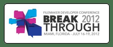 Goya at FileMaker Developer Confererence 2012