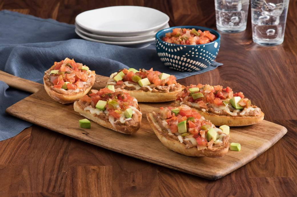 Image result for mexican molletes