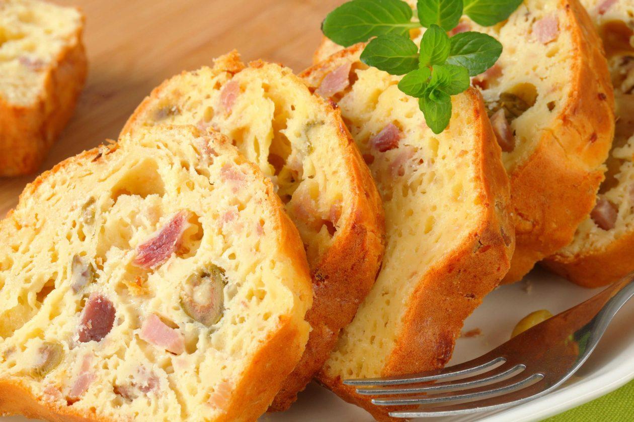Green Olive Bacon Cheese Bread Recipe