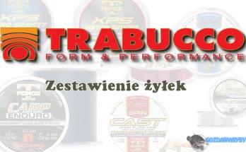 Zestawienie żyłek Trabucco gozdawaryby.pl