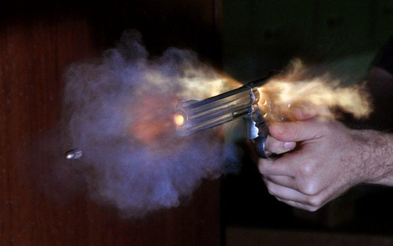 Residuos de Pólvora en un disparo