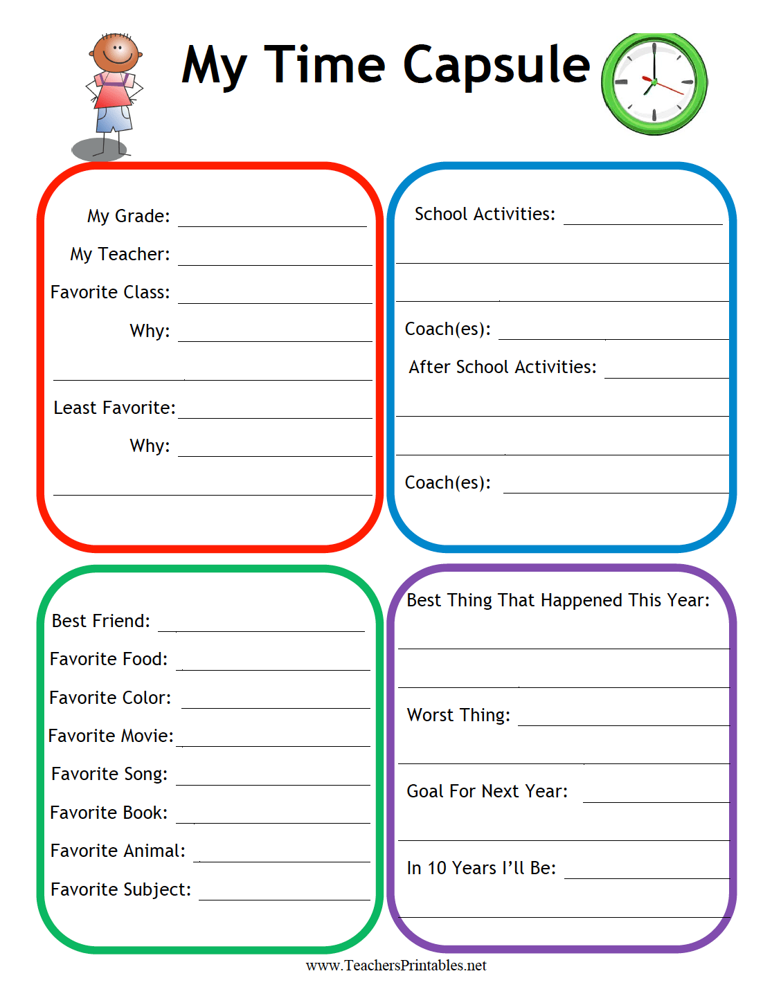 Printable Critical Thinking Worksheet For Preschool