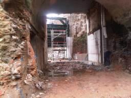 Reprise d'une cloison du bâtiment