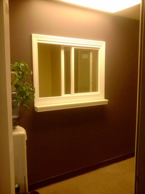 Interior Commercial Renovation Window  Greater Portland