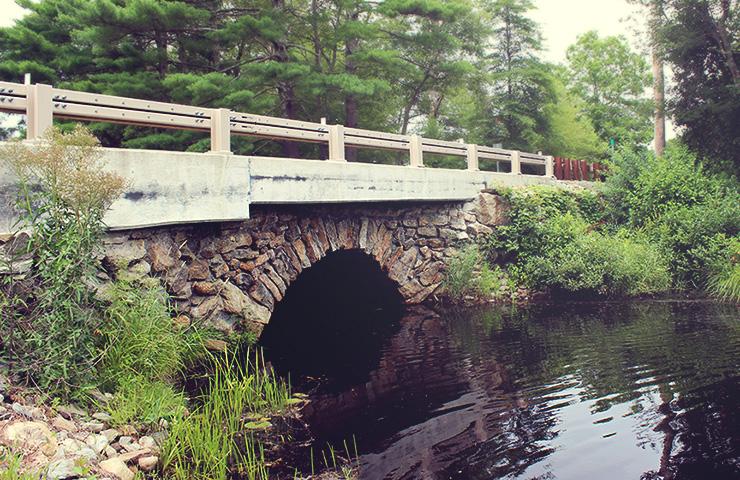Gurney Road over Fall Brook
