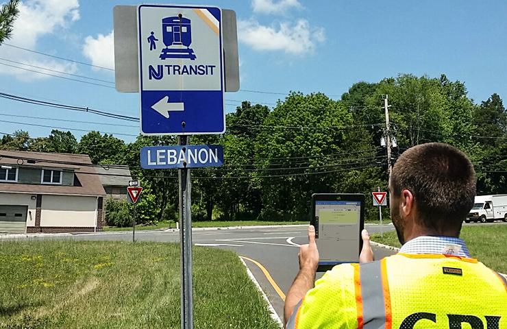 NJ TRANSIT Trailblazer Signs Raritan Valley Line