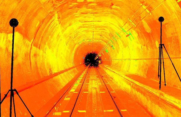 Shot Tower Subway Tunnel
