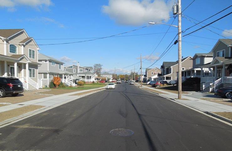 Narraganset Avenue Road Raising