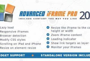 Advanced iFrame Pro Plugin 2020.9