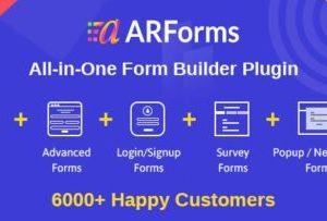 ARForms 4.2.1 – WordPress Form Builder Plugin