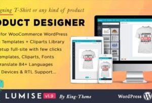 Lumise 1.9.7 – Product Designer for WooCommerce