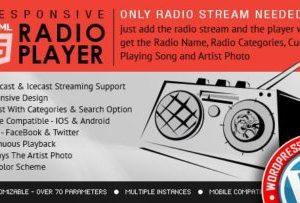 Radio Player Shoutcast & Icecast 3.3.4