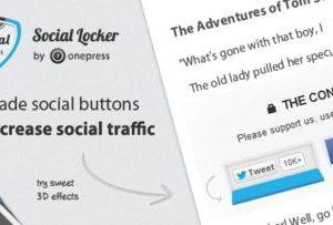 Social Locker for WordPress 5.6.2