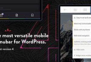 Touchy 4.1 – WordPress Mobile Menu Plugin