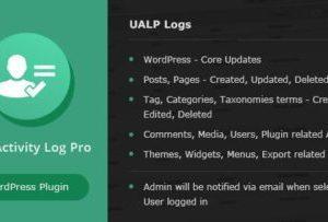 User Activity Log PRO for WordPress 1.6