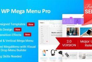 WP Mega Menu Pro 2.1.3 WordPress Plugin