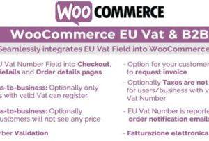 WooCommerce Eu Vat & B2B 9.9