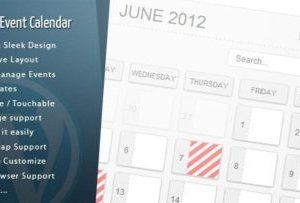 WordPress Pro Event Calendar 3.1.9
