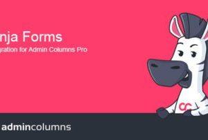 Admin Columns Pro Ninja Forms Add-On 1.4