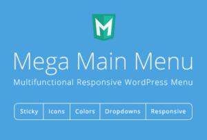 Mega Main Menu 2.2.0 – WordPress Menu Plugin