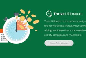 Thrive Themes Ultimatum Plugin