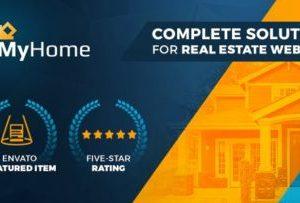 MyHome Real Estate WordPress Theme 3.1.57