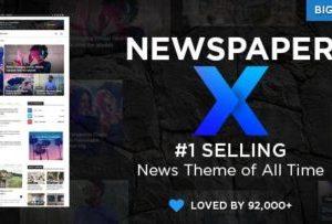 Newspaper Blog and Magazine Theme 10.4