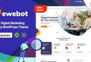 Ewebot SEO Marketing And Agency Theme