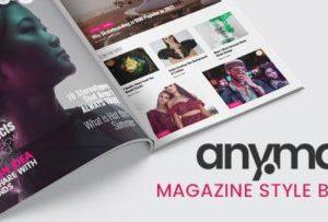 Anymag Magazine Style WordPress Blog 2.14