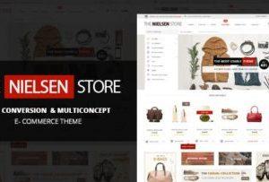 Nielsen Ecommerce WordPress Theme 1.9.17