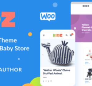 KIDZ Baby Shop And Kids Store Theme