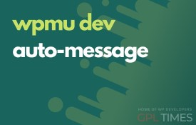 wpmudev auto message
