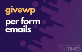 give wp per form emails