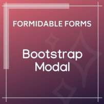 Formidable Forms Bootstrap Modal