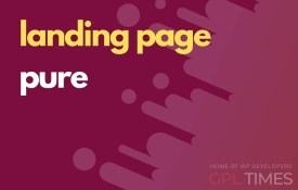 landing page pure