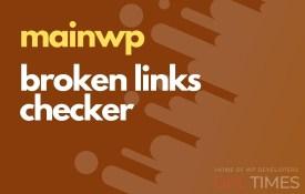 mainwp broken links checker