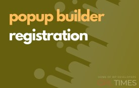 popup build registration