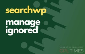 search wp manage ignored