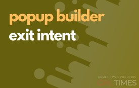 popup build exit intent