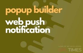 popup build web push notification