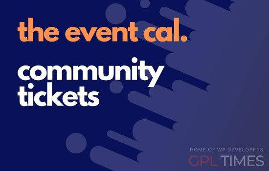 the event cal community tickets