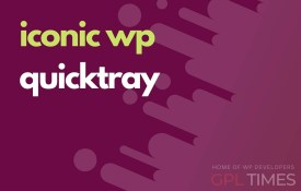 iconic wp quicktray