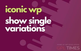 iconic wp show single variartions