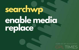 search wp enable media replace