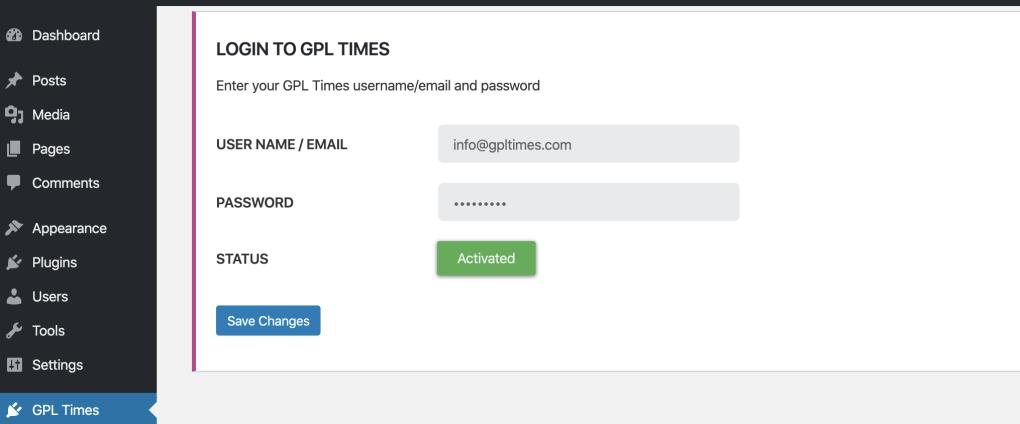 gpl logged